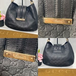 Gucci Bags - 🌺RARE🌺 FULL LEATHER Gucci hobo style
